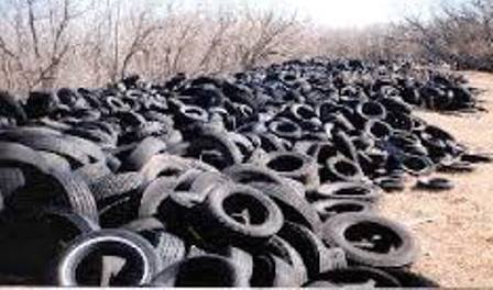 Scrap Vehicle Tire Disposal