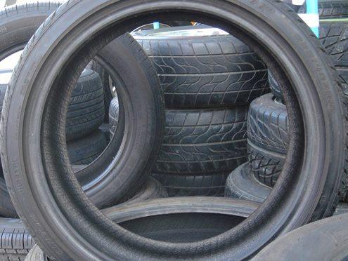 Scrap Auto Tire Incentive